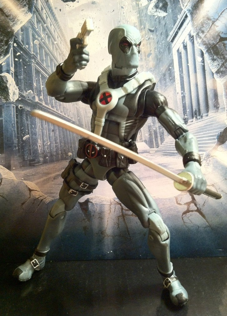 Marvel legends x force deadpool series 3 review toy for Dead pool show in jaipur