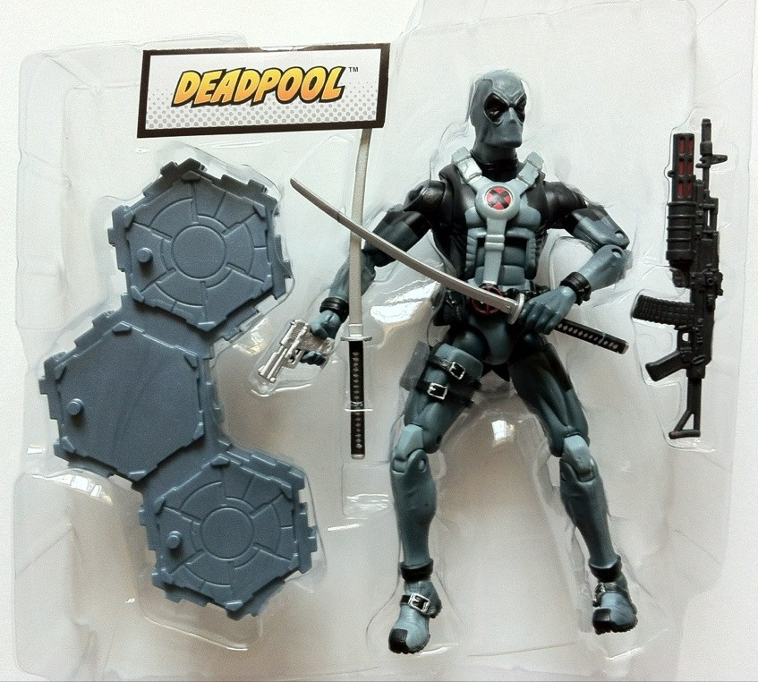 X-Force Deadpool Marvel Legends Wave 3 In Bubble