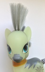 MLP Friendship is Magic Zecora Head and Hair Close-Up of Toy