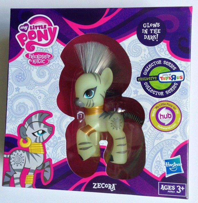 My Little Pony Zecora Packaged Friendship is Magic Hasbro G4