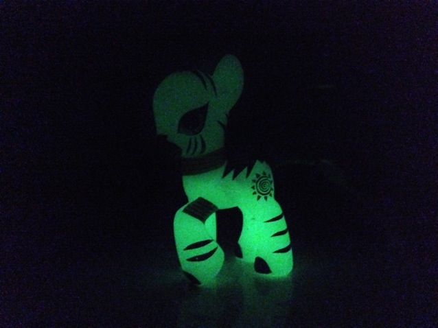 Zecora Glow-In-The-Dark Toy 2012 My Little Pony