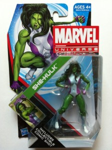 Packaged Marvel Universe 2012 She-Hulk Figure