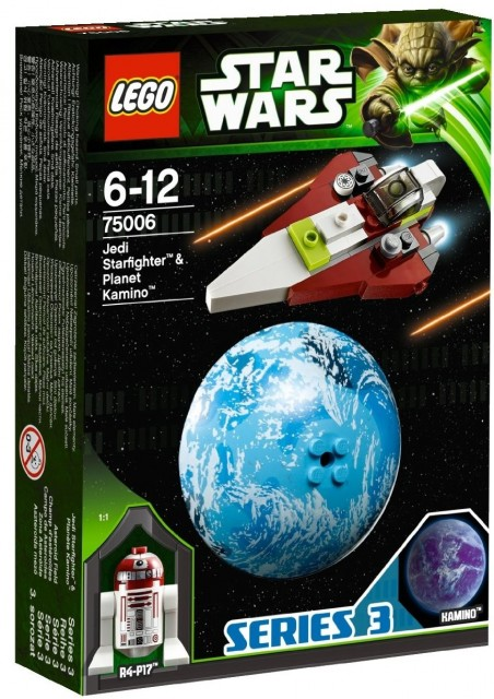 LEGO 75006 Box R4-P17 Kamino Jedi Starfighter LEGO Star Wars