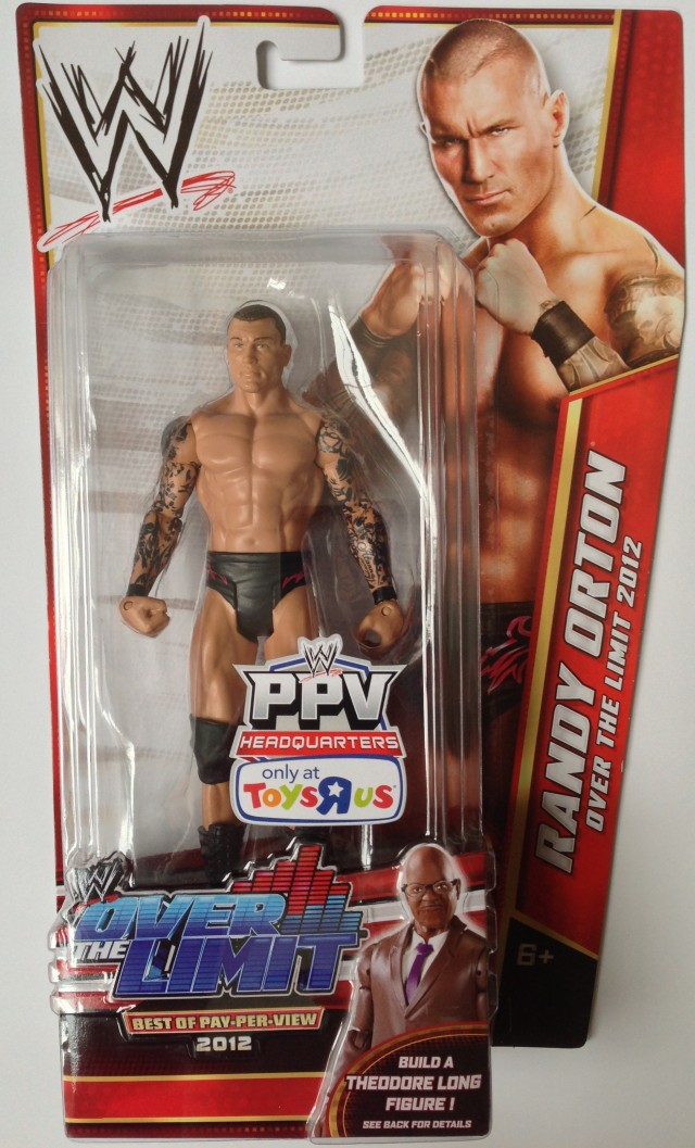 Mattel WWE Best of Pay Per View 2012 Randy Orton Wrestling Figure