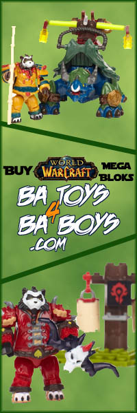 Buy World of Warcraft Mega Bloks from BA Toys!