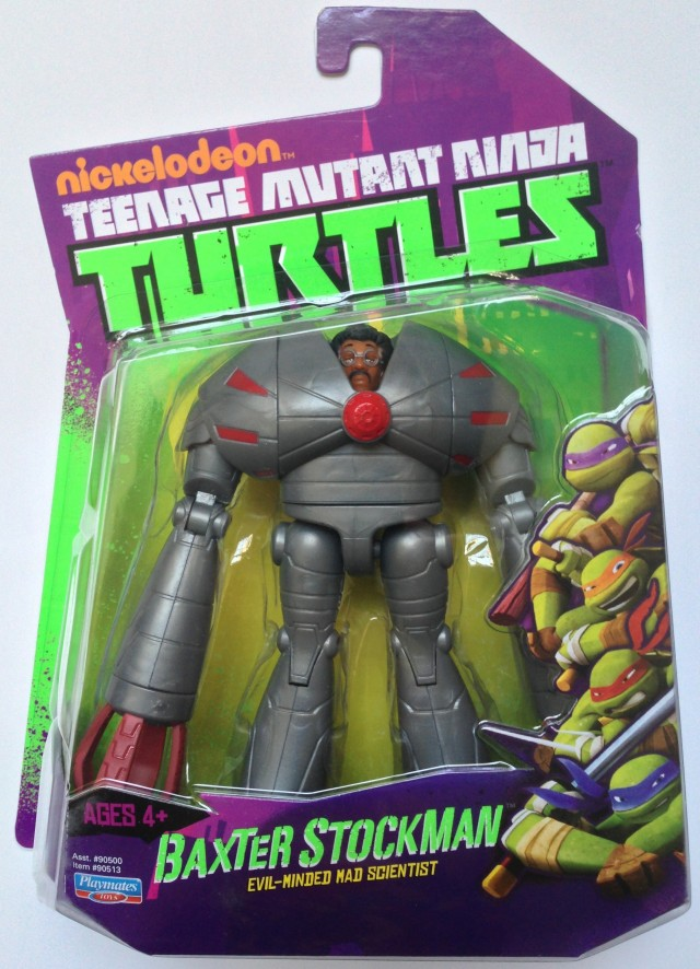 Nickelodeon Teenage Mutant Ninja Turtles Baxter Stockman Carded Figure
