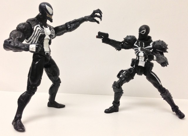 Marvel Select Venom Eddie Brock vs. Flash Thompson Venom Figures