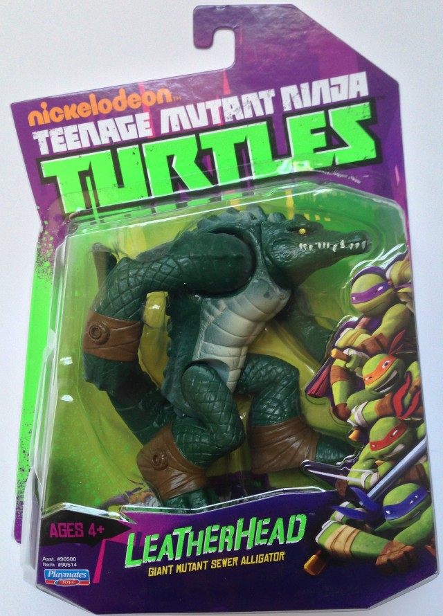 Nickelodeon Teenage Mutant Ninja Turtles Leatherhead Figure Card