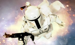 Sideshow Collectibles Star Wars Boba Fett White Prototype Armor Sixth Scale Figure Teaser