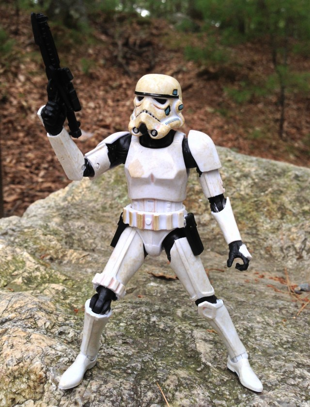 Star Wars Black Series Sandtrooper Six Inch Figure without Pauldron Stormtrooper