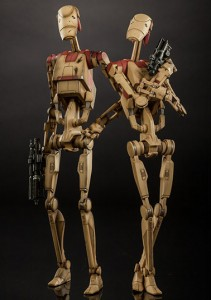 Sideshow Collectibles Security Battle Droids Up for Order