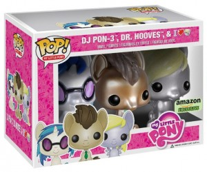 My Little Pony Funko POP Vinyls Metallic Box Set Exclusive