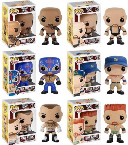 Funko WWE POP Vinyls Figures Series 1 Lineup