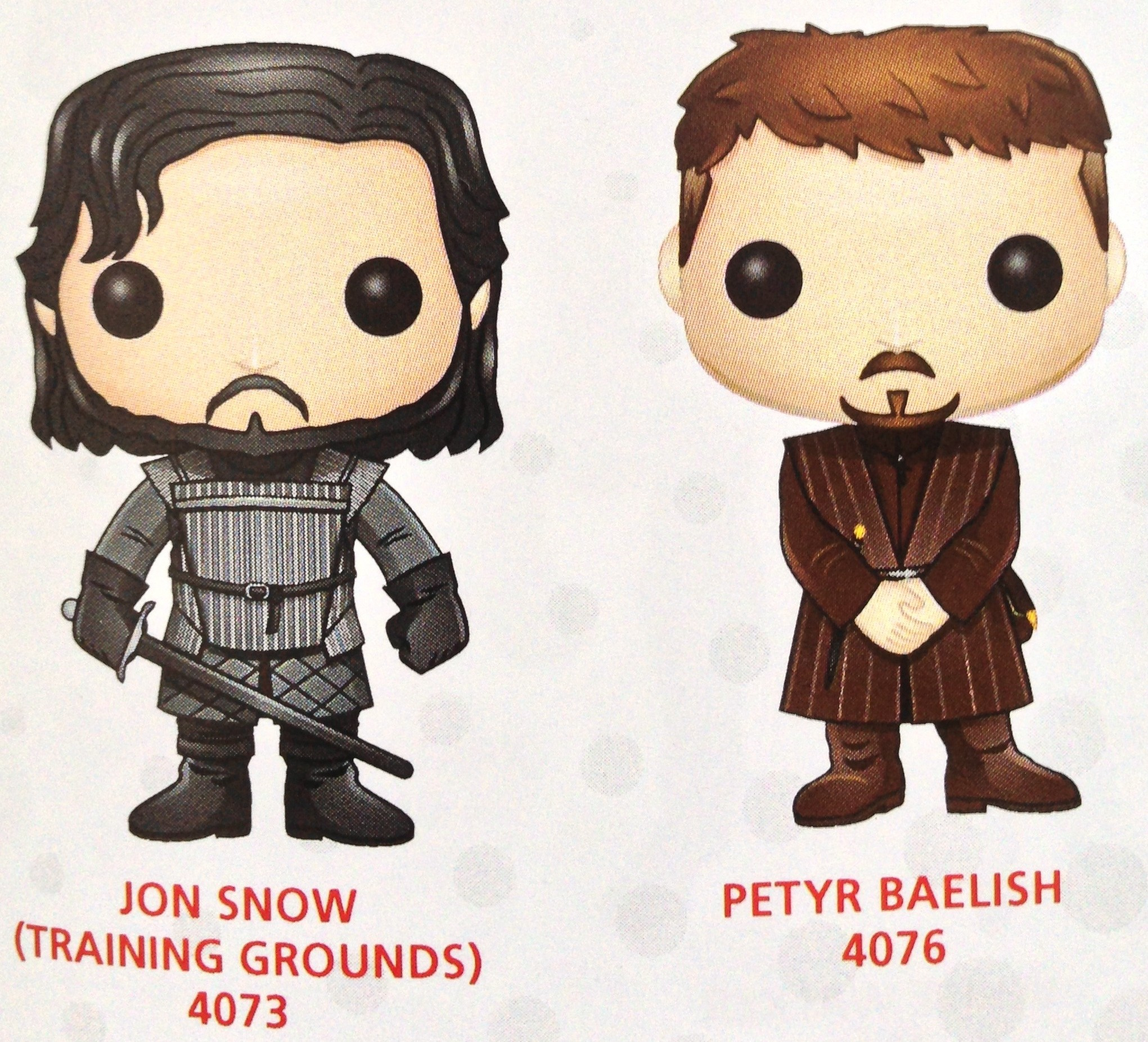 Game of Thrones Vinyl Jon Snow Training Grounds Pop