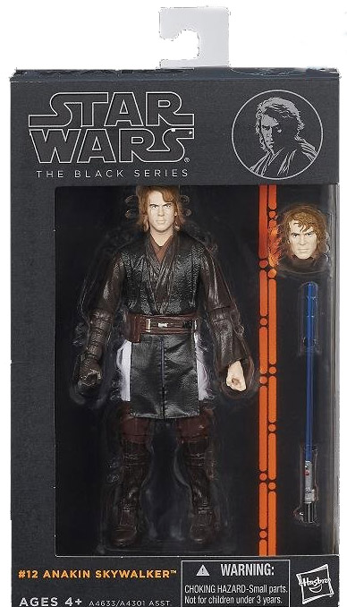 Hasbro Star Wars Black Series Wave 4 Anakin Skywalker 6 Inch Figure