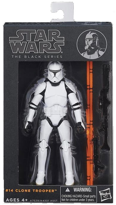 Star Wars Black Series Clone Trooper Figure 6 Inch Wave 4