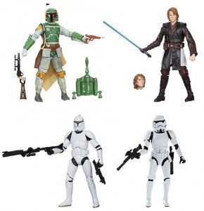 Star Wars Black Series 6 Inch Figures Wave 4 Clone Trooper Boba Fett Stormtrooper Anakin
