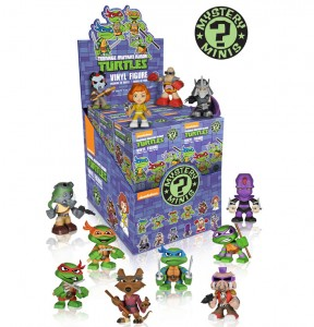 Funko TMNT Mystery Minis Figures Case of Blind Boxes