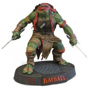 Amazon Exclusive Raphael Statue Teenage Mutant Ninja Turtles 2014 Blu Ray Gif Set