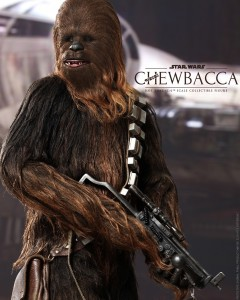 Hot Toys Chewbacca Sixth Scale Figure MMS262 Close-Up of Head