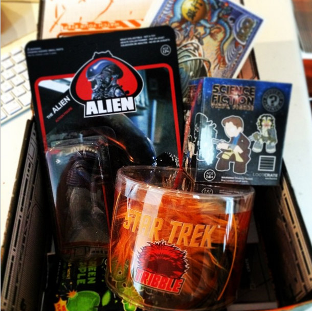 Loot Crate September 2014 Contents Spoilers LootCrate
