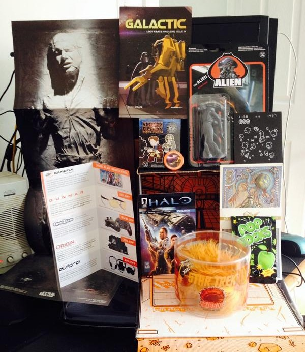 September 2014 LootCrate Spoilers Items Loot Crate
